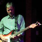 Dave Steffen on guitar as Robbie Robertson in The Last Waltz