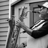 "Mike Willens plays sax, ""The Soul Commitments,"" ""The Last Waltz,"" ""The Woodstock Era,"" and ""Summer of Love/Monterey Pop Tribute"""