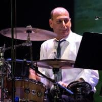 "Drummer Dave Harris plays with ""The Soul Commitments"""