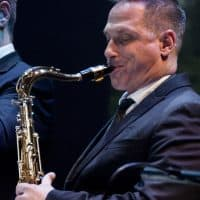 Robb Calabro, sax, The Soul Commitments & Van Morrison
