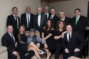 Troupe Photo: The Soul Commitments and Van Morrison Tribute, the whole band poses