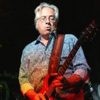 "Dennis Costis plays guitar, ""70s FM,"" ""The Woodstock Era,"" ""The Core,"" and ""Have a Cigar"""