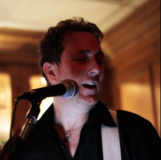 """Derrick """"Suede"""" Stout: Guitar, keys, vocals, """"The Love"""""""
