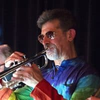 "Gary Kretchmer, trumpet (""The Last Waltz"" and ""The Woodstock Era"")"