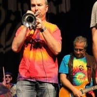 """Mitch Goldman, trumpet, """"The Woodstock Era"""" and """"Summer of Love 1967,"""" (background: Sal Canzone, drums & Dennis Costis, guitar)"""
